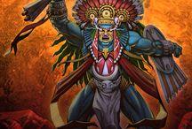 Deidades Aztecas