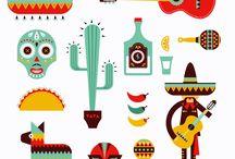 mexican doodles