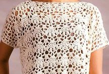 blusas croché