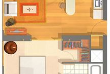 tiny houses-Planos casas pequeñas