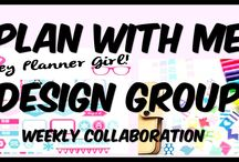 Plan With Me Design Group Videos