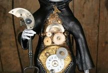 Steam punk, mechanical, industrial, Victorian, Edwardian miscellany  / by M Jean G