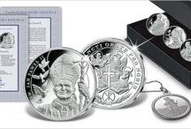 SREBRNE KOLEKCJE / Kolekcje monet i medali w ofercie Skarbnicy Narodowej