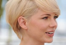 Women's short haircut...