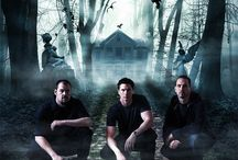 Dude!  Did You Hear That, Bro? -- Ghost Adventures / Ghost Adventures.  Zak Bagans.  Nick Groff.  Aaron Goodwin.  Billy Tolley. / by Thalassa