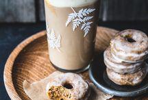 káva a něco ke svačině (obrázky)