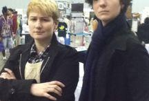 Sherlock cosplay