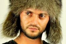 Raccoon fur hats for men / Amifur.com online store offers a selection of raccoon fur hats, ideal for men and women. Handmade in Italy.  www.amifur.com