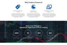 forex trading website design