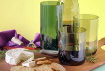 Wine bottles ideas