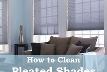 Cleaning / How to clean different types of blinds and shades courtesy of the Blindster Blog