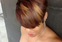 Fried,Dyed and Laid to the Side / Short, Sassy and eScentrik Hair Kutsz / by mmyK♑ Hillsman