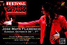 6th Annual Bay Area Flamenco Festival / 2011 Bay Area Flamenco Festival/Festival Flamenco GItano USA featured Diego el Cigala, Diego del Morao and Jose Maya