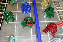 Christmas kids crafts / by Marcia Webster