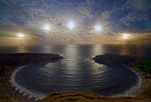 Stars from Earth & Aurora Borealis