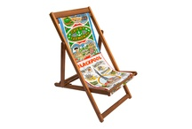 Upcycled Deckchairs / www.littlemillhouse.co.uk