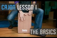 Sela Cajon Tutorials / Do you want do learn how to play cajon? In this pinboard we collect the best video tutorials for you. Especially Ross McCallum, a Sela Cajon musician, helps you at playing cajon.