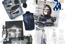 Recycling / Recycled Denim looks, designs & Inspirations #Fashion #Denim #Recycling
