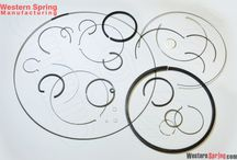 Rings / Wire Rings of various sizes and types.  Produced to customer specifications to retain fixtures in place.