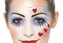 maquillaje payasos