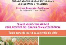A Craft Design Tem tudo para deixar sua casa cheia de vida. / De 21 a 24 de Fevereiro no Centro de Convenções Frei Caneca, em São Paulo.  De 21 a 23/02 das 10h às 20h Dia 24/02 das 10h às 19h  Acesse: www.craftdesign.com.br