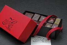 Quelques-uns de nos chocolats... / Chocolaterie Hirsinger - Arbois - France