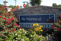 Marina at Peppers Creek-Dagsboro, Delaware / The Marina at Pepper's Creek is a beautiful water privileged community located on Pepper's Creek near Dagsboro, Delaware.