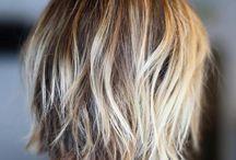 Hair / I love the ash grey!