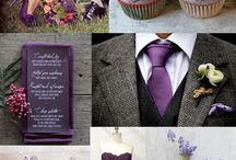 Wedding Colors - Purple / by invitesbyjen