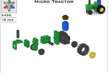 lego mini tracteur de ferme