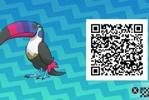 qr codes sun and moon shiny