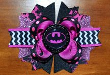 baby girl's batman 1st bday