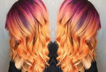 Sunset Hair / Vibrant hair that's perfect for summer!