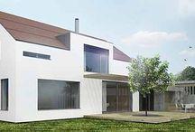 rodinné domy / projekty rodinných domů, architektonické studie rodinných domů