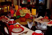 Tablescapes / by Susan Willard