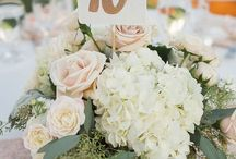 Wedding decor centerpieces