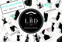 The Perfect LBD - Little Black Dress Online Style Challenge / A Mystery Case Style Challenge that features ONE LBD from The LBD - Little Black Dress company STYLED 52 different ways.   With more ways for everyone to get involved each week.