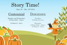 Just for Kids / Children-related library events