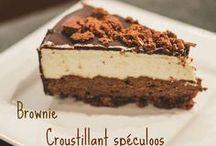 desserts - gâteaux