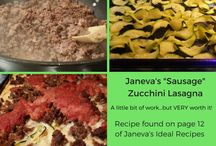 Outside the Box October / A review of Janeva's Ideal Recipes.  Ideal Protein Phase 1-  Phase 4 Meals.