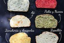 Panes de distintos sabores