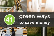 Go Green Decorating / Being eco-friendly in your home can save you lots of money for your decorating budget, and the environment will thank you. http://www.apartmentshowcase.com