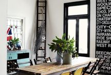 Graphic Dining Rooms