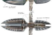 naves , aviões  (airplane)