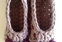 zapatillas crochet trapillo