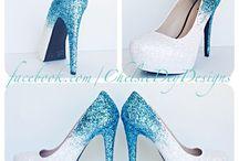 Sapatos decorados
