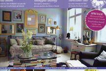Abitare country Magazine / Cà Bianca dell'Abbadessa on Abitarecountry Magazine march 2014
