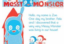 OKIDO Messy Monster / One of Okido's favourite characters, Messy Monster!  / by OKIDO Magazine