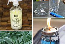 Insect repellent recipes