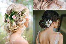 Vestido/peinado boda